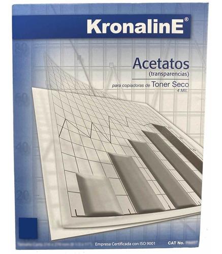 Acetato Poliester Kronaline Pa650 100h Carta Laser Toner