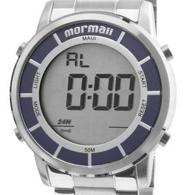 Relógio Mormaii Unissex Prata Digital - Mobj3463da/3k