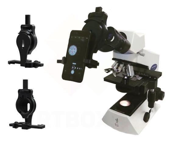 Adaptador De Smartphone Celular Para Microscópio Olympus