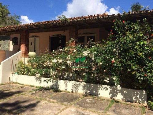Casa Com 3 Dormitórios À Venda, 200 M² Por R$ 720.000,00 - Jauá - Camaçari/ba - Ca2590