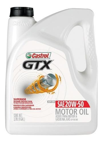 Imagen 1 de 2 de Aceite Castrol Gtx 20w50 3.78 L