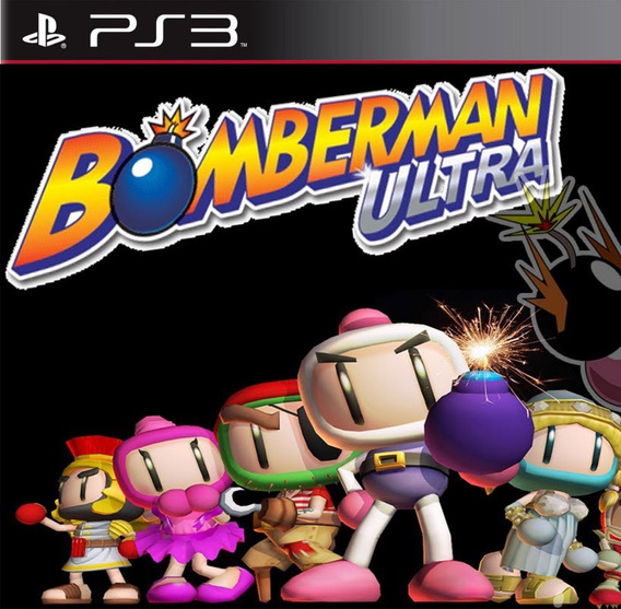 Bomberman Ultra - Jogos Ps3 Playstation 3
