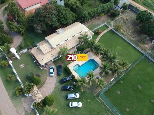 Imagem 1 de 12 de Ch01790 - Chacara Com Excelente Área De Lazer - Itaici - Z10 Imoveis - Ch01790 - 68679450