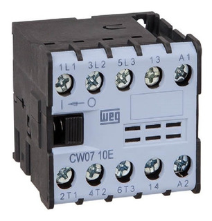 Mini Contator Cw07-10 Com 1na 220v Weg