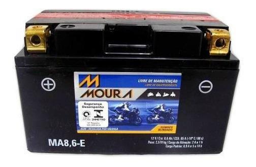 Bateria Moto Moura Ma8,6-e 8,6 Amp