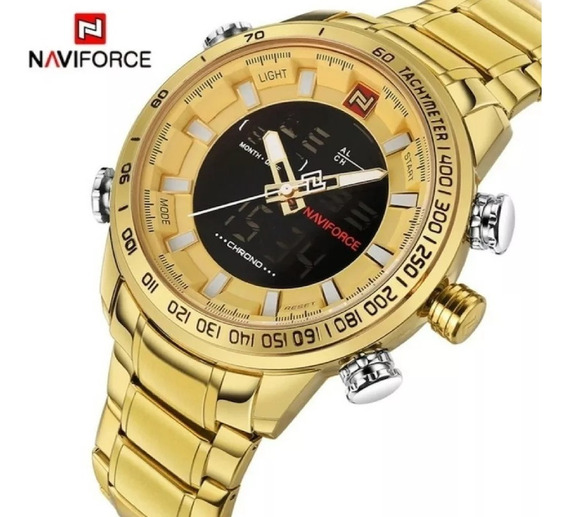 Relógio Masculino Naviforce 9093 Luxo - Original