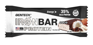 Barra Proteina Ironbar Gentech X 20 Unid Sin Tacc