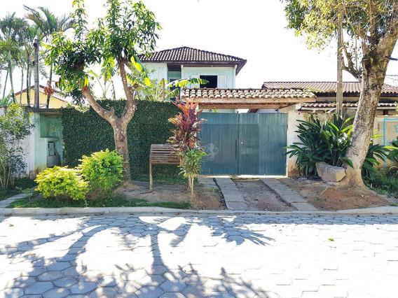 Sobrado Com 3 Dorms, Massaguaçu, Caraguatatuba - R$ 350 Mil, Cod: 97 - V97