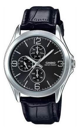 Reloj Casio Hombre Negro Mtp-v301l-1audf