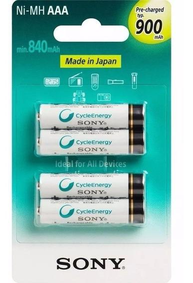 4 Pilhas Aaa Sony Original Lacrado Pronta Entrega