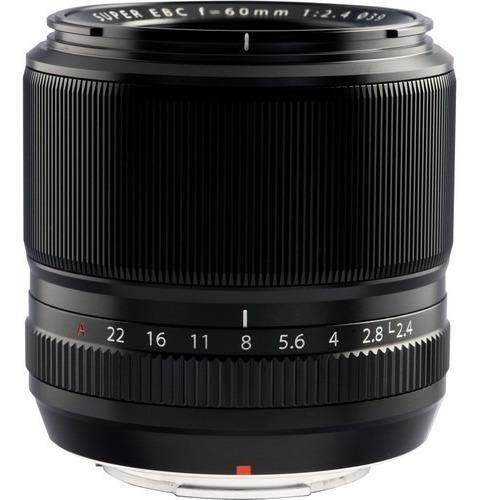 Lente Macro Fujifilm Xf 60mm F/2.4 R - Lj. Platinum