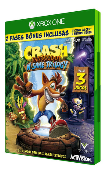 Crash Bandicoot N. Sane Trilogy| Xbox One| Digital| Offline