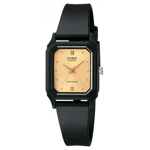 Reloj Mujer Casio Lq-142e-9 Analogo Negro / Lhua Store