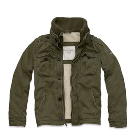 Jacket Abercrombie&fitch, Talla Chica,