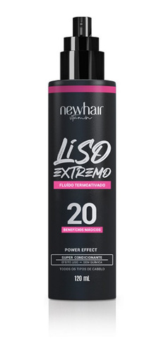 New Hair Liso Extremo 120ml