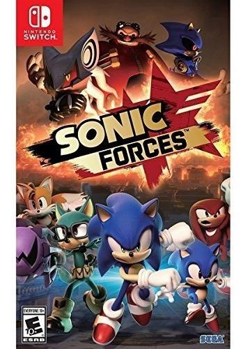 Sonic Forces Switch ¡ Totalmente Nuevo Y Sellado!