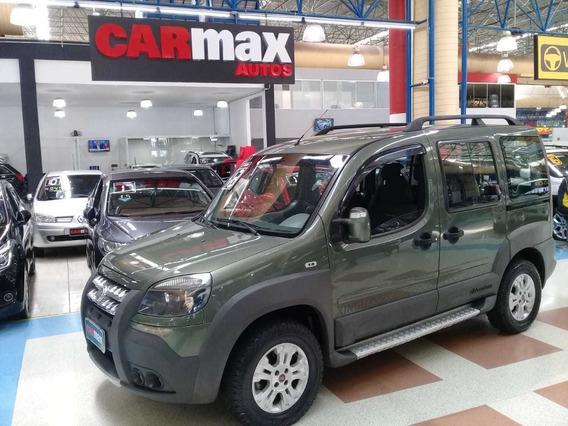 Fiat Doblo Adventure Xingu 1.8 Flex 2013 Verde 5p