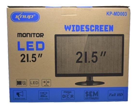 Monitor Led 21,5 Pol 1920x1080 Bivolt Falante Integrado