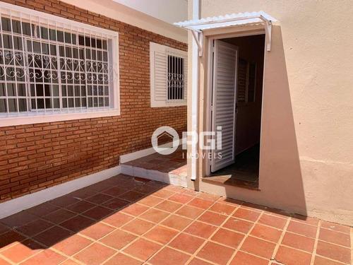 Casa Com 3 Dormitórios, 145 M² - Venda Por R$ 400.000,00 Ou Aluguel Por R$ 1.600,00/mês - Jardim Paulistano - Ribeirão Preto/sp - Ca3083