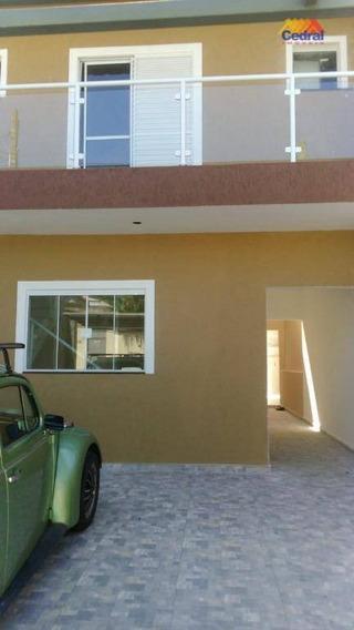 Sobrado Com 3 Dormitórios À Venda, 130 M² Por R$ 450.000,00 - Parque Santana - Mogi Das Cruzes/sp - So0326