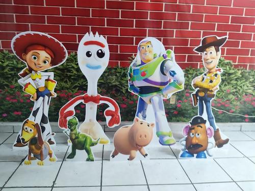 Imagen 1 de 1 de Figuras En Coroplast Toy Story 8 Pzas