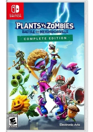 Imagen 1 de 1 de Plants Vs Zombies Battle For Neighborville Complete Nintendo