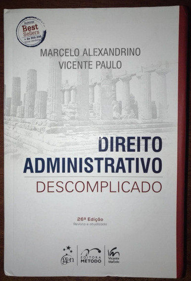 Direito Administrativo Descomplicado 26ªed