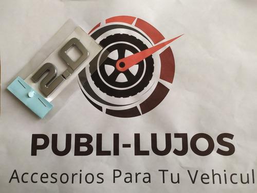 1 Emblema 2.0 Renault Duster Homologado Envio Gratis Nuevo