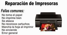 Reparacion De Impresoras Epson, Hp, Laser,somos Los Tecnicos