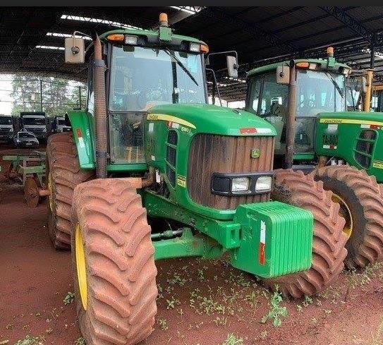 Trator Agrícola John Deere 6180 4x4 Ano 2016, Seminovo