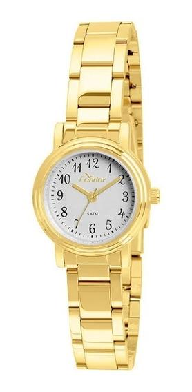 Relógio Feminino Condor Dourado Co2035kua/4a