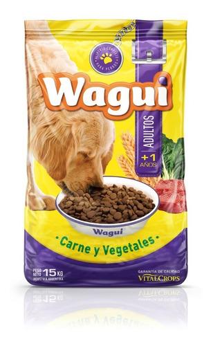Wagui Adultos 15 Kg Sabor Carne ***envíos Gratis Caba***