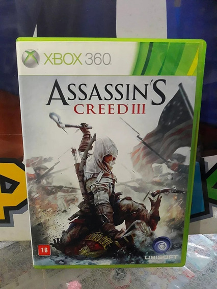 Xbox 360 Assassins Creed 3 Semi-novo/mídia Física/original