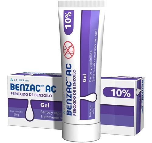 Imagen 1 de 5 de Benzac Gel Peróxido Benzoilo 10% Elimina Acné Puntos Negros