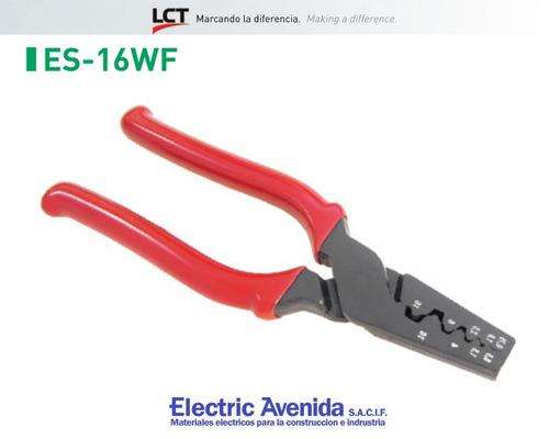 Imagen 1 de 8 de Pinza Puntera Tubular Lct Es-16wf Ctn Tiff Electricavenida