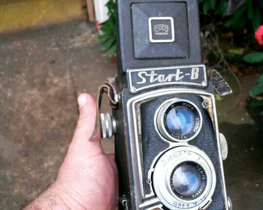 Câmera Antiga Fotografica