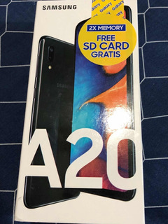 Samsung Galaxy A20 32gb/3gb Ram + Sd 32 De Regalo