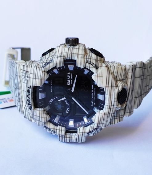 Relógio Masculino Smael Digital E Analógico Prova A D