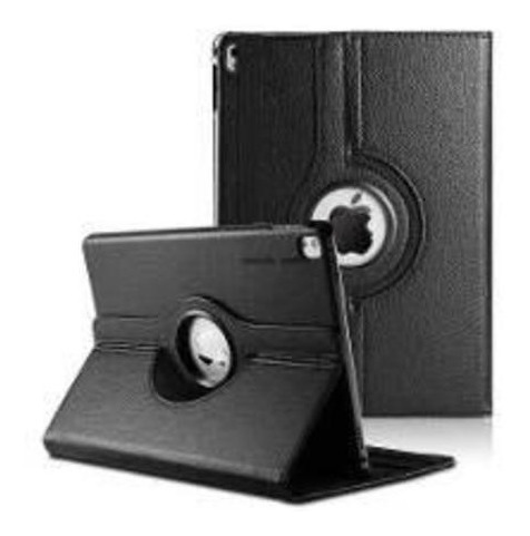 Capa Case Para iPad Pro 9.7 Preta Giratória