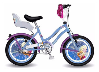 Bicicleta Frozen Cars Rodado 16 Original Magic Makers