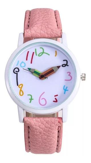 Reloj Dama Caballero Resist Agua Docente Preescolar Kinder