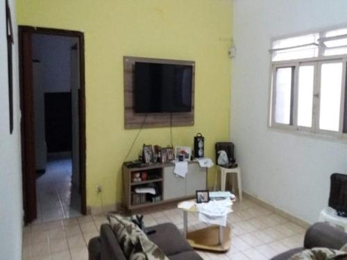 Imagem 1 de 18 de Casa 03 Dormitórios No Boqueirão Praia Grande - Ca0185 - 34958089
