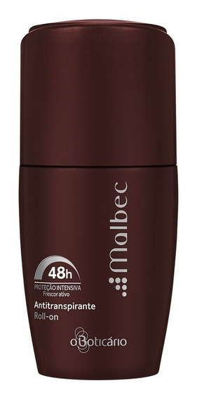 Malbec Desodorante Antitranspirante Roll-on, 55ml