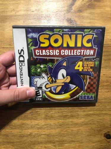 Imagen 1 de 1 de Sonic Classic Collection Nuevo Nintendo Ds 3ds