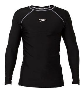 Camiseta Natacion Speedo Ml Hyden Buzo Profesional