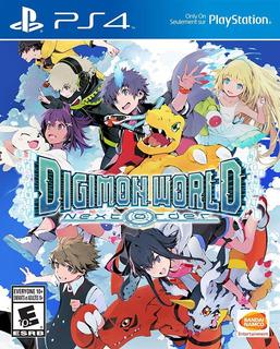 Digimon World Next Order Juego Ps4 Fisico/ Mipowerdestiny