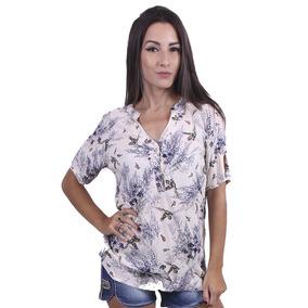 Blusa Feminina Estampada - Asya Fashion