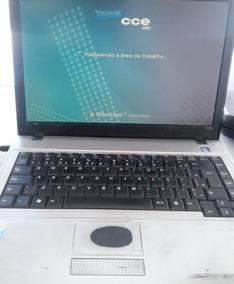 Notebook Cce Sim+ Modelo 1025, 4gb Ram, 250hd,negociável!!!