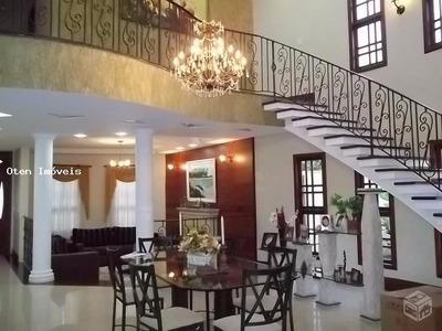 Casa Em Condomínio Para Venda Em Jacareí, Mirante Do Vale, 4 Dormitórios, 1 Suíte, 1 Banheiro, 5 Vagas - 14584