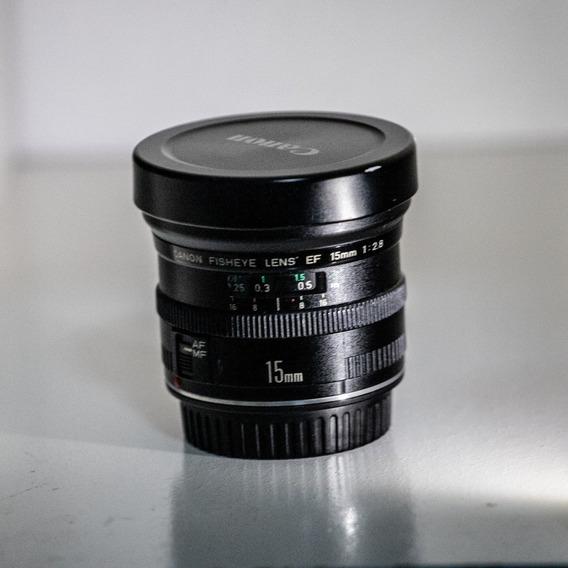Lente Canon Full Frame Ef 15mm F/2.8 Fisheye